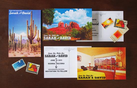 Wedding Invitations Az: Arizona Wedding Invitation Suite