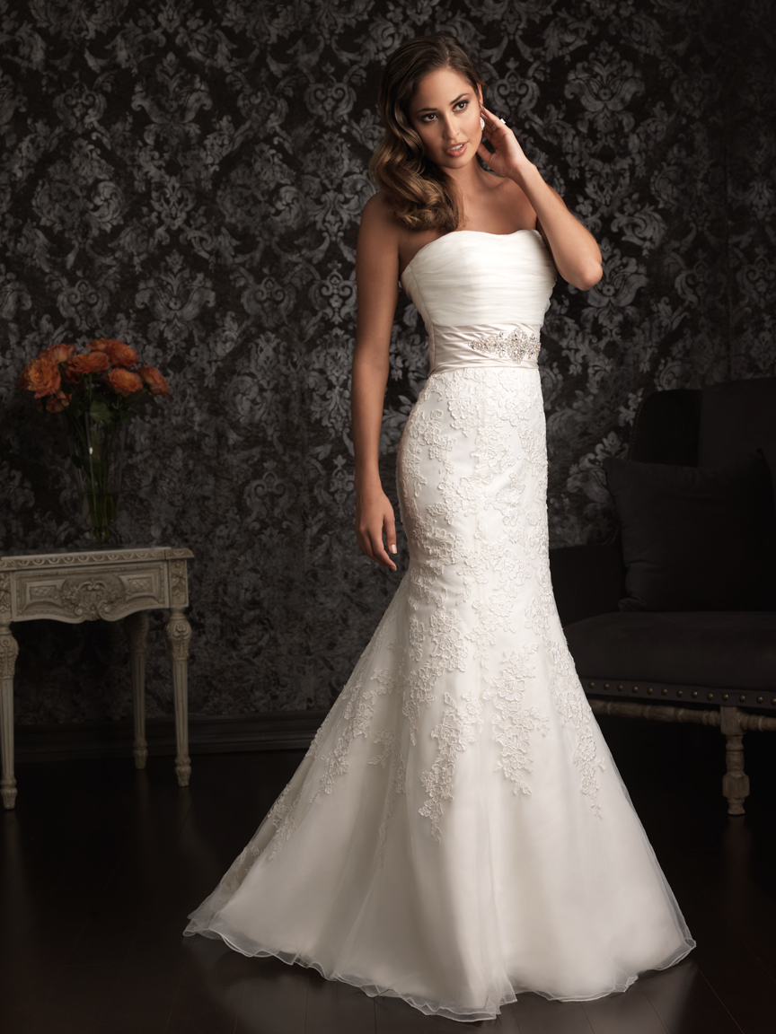 Allure Bridals Wedding Dress Bridal Gown Allure Collection 2013 8908F
