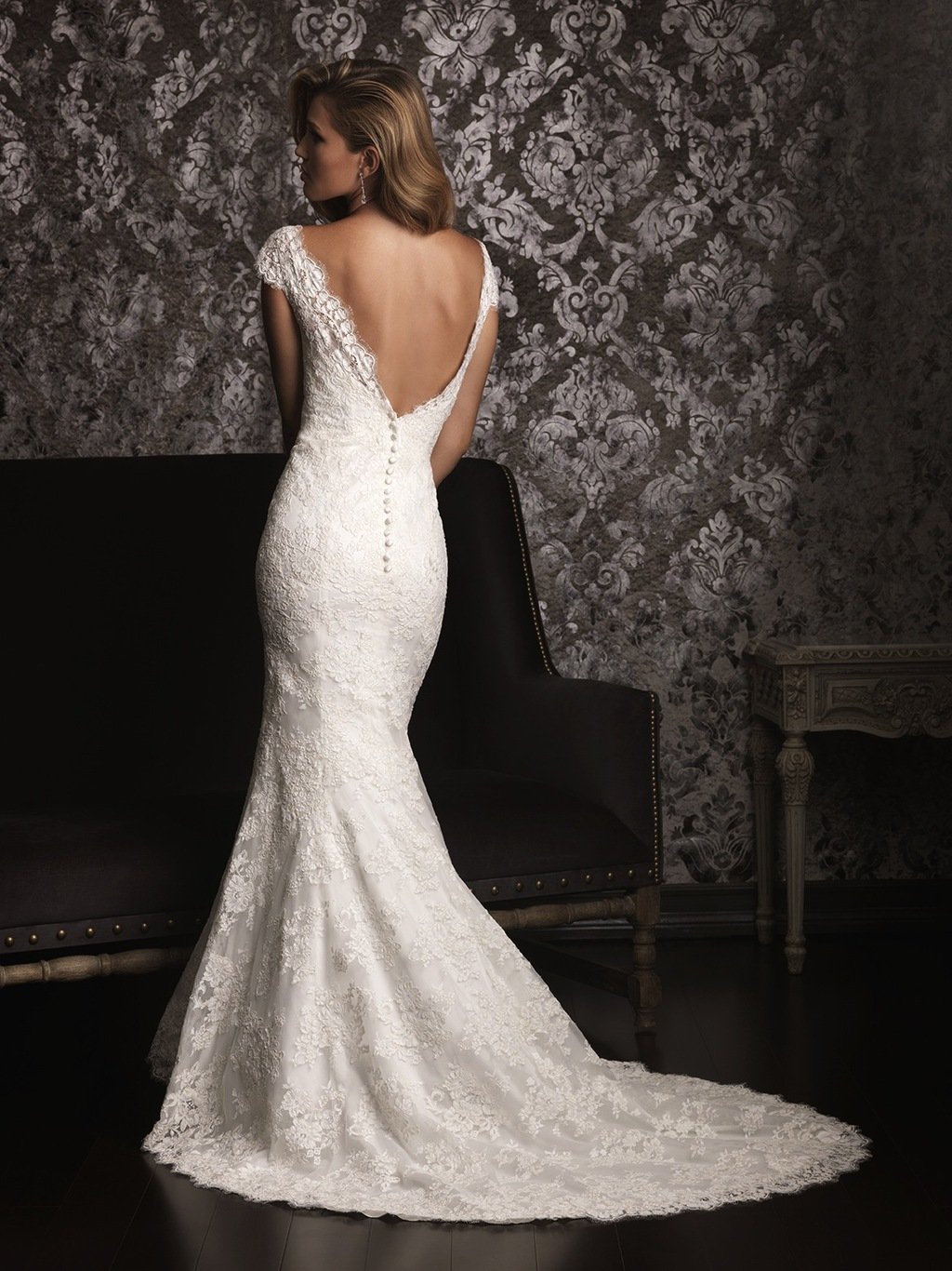 2013 Lace Wedding Dress by Allure Bridals 9000F2