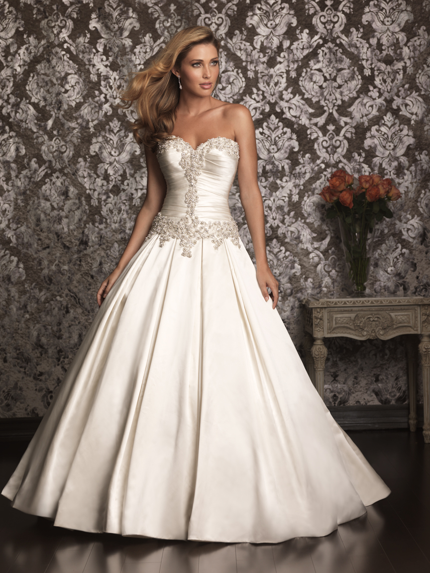 Allure Bridals Wedding Dress Bridal Gown Allure Collection 2013 9003F