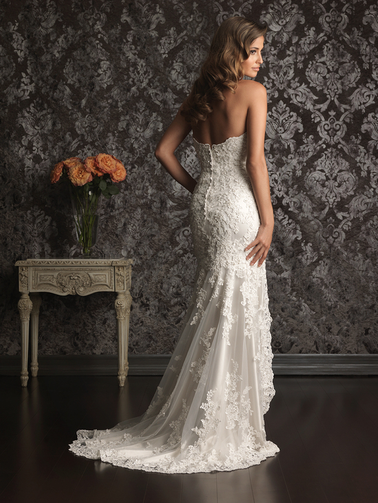 Allure Bridals Wedding Dress Bridal Gown Allure Collection 2013 9008B