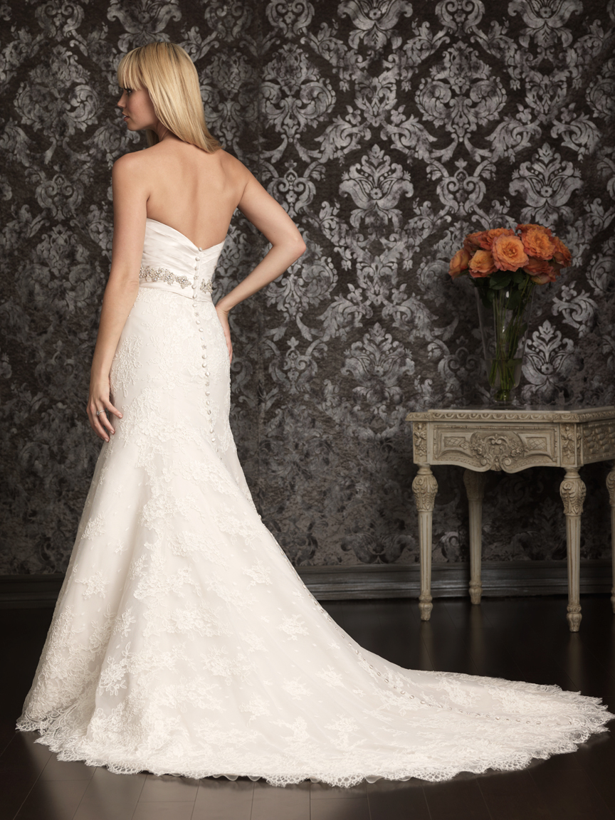 Allure Bridals Wedding Dress Bridal Gown Allure Collection 2013 9004F