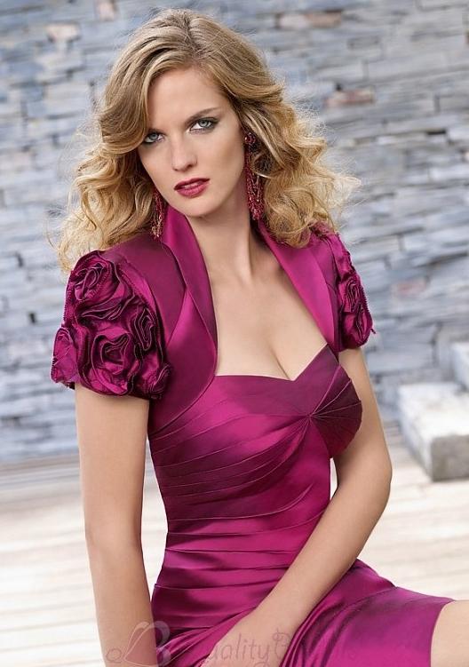 Stunning-taffeta-sweetheart-spaghetti-straps-knee-length-mother-of-the-bride-dress-m1109.full