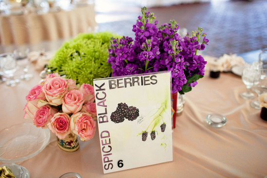 Bright Bold Wedding Centerpieces Handmade