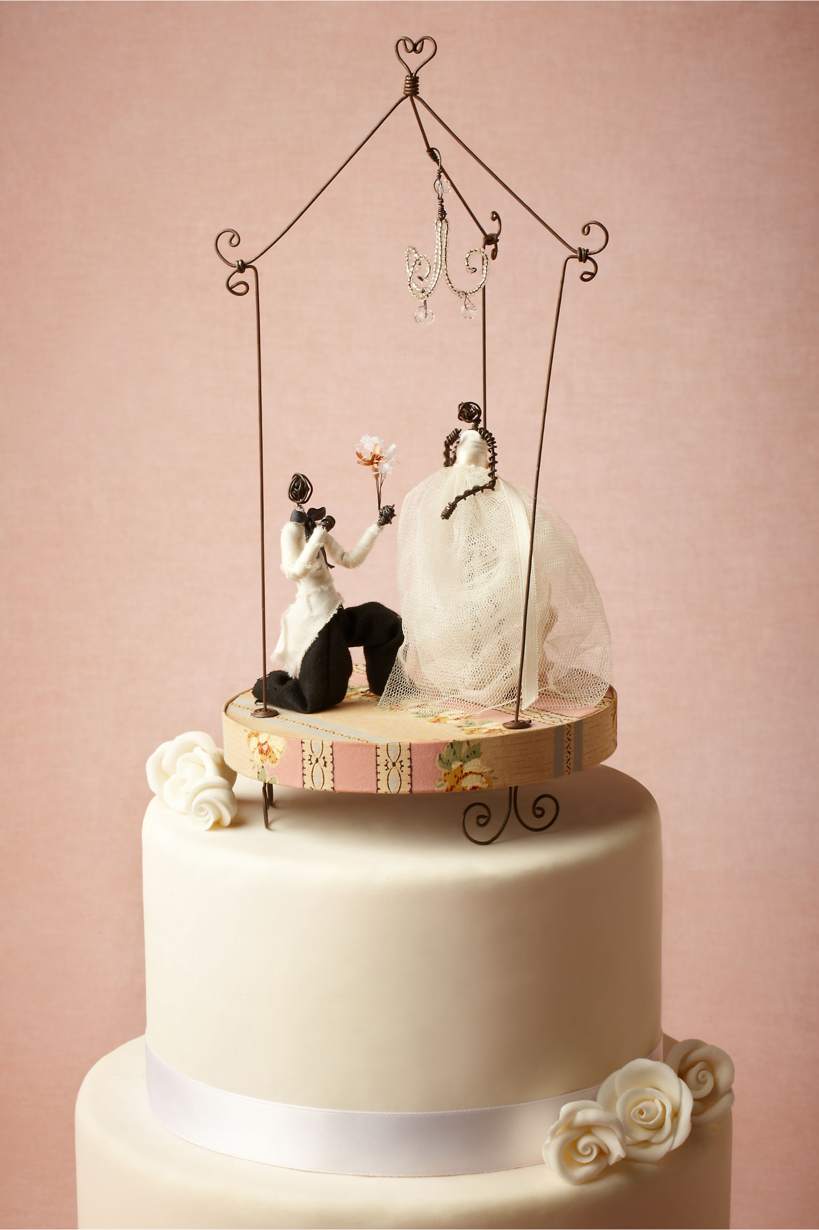 Romantic Wedding Cake Toppers Viewing Gallery