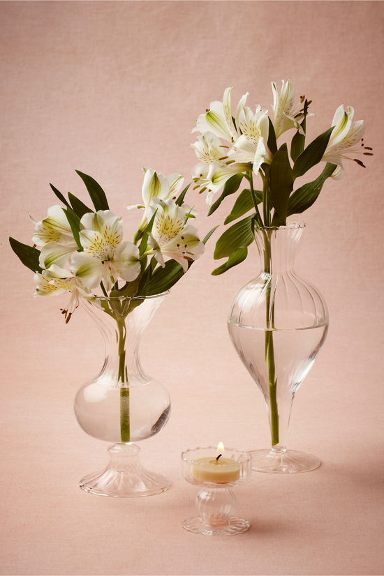 Milk Glass Wedding Centerpiece Jars