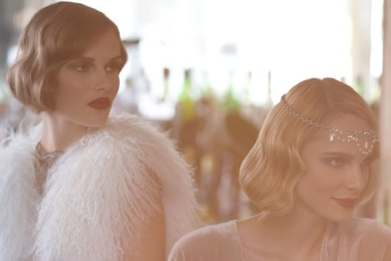 Great Gatsby Inspired Wedding Hair