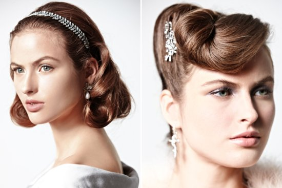 Retro Waves for Vintage Brides
