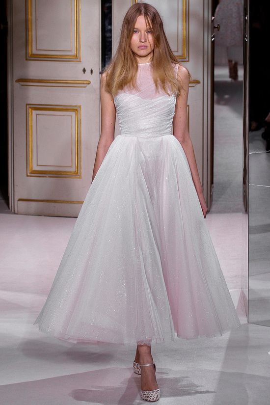 Irridescent Wedding Gown giambattista valli couture spring 2013 24 122424434821