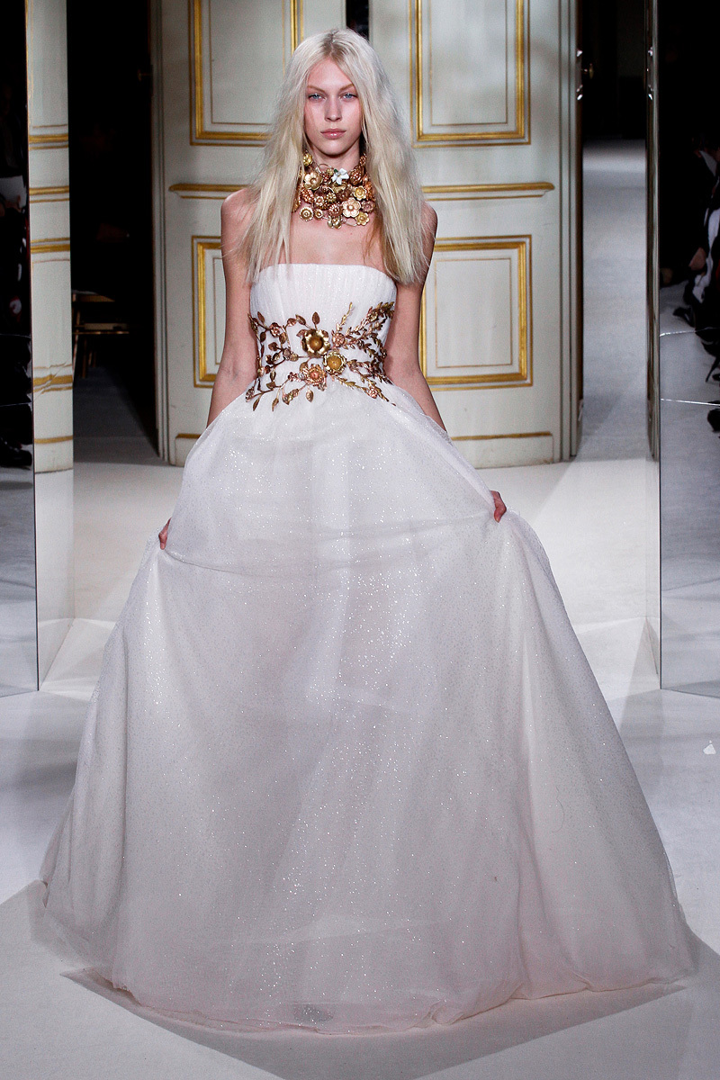 Couture Wedding Coat in Taupe and Blush Giambattista Valli