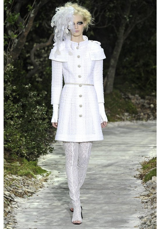 2013 Couture Wedding Style Inspiration from Chanel