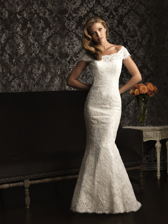 Allure Bridals Wedding Dress Bridal Gown Allure Collection 2013 9000F2