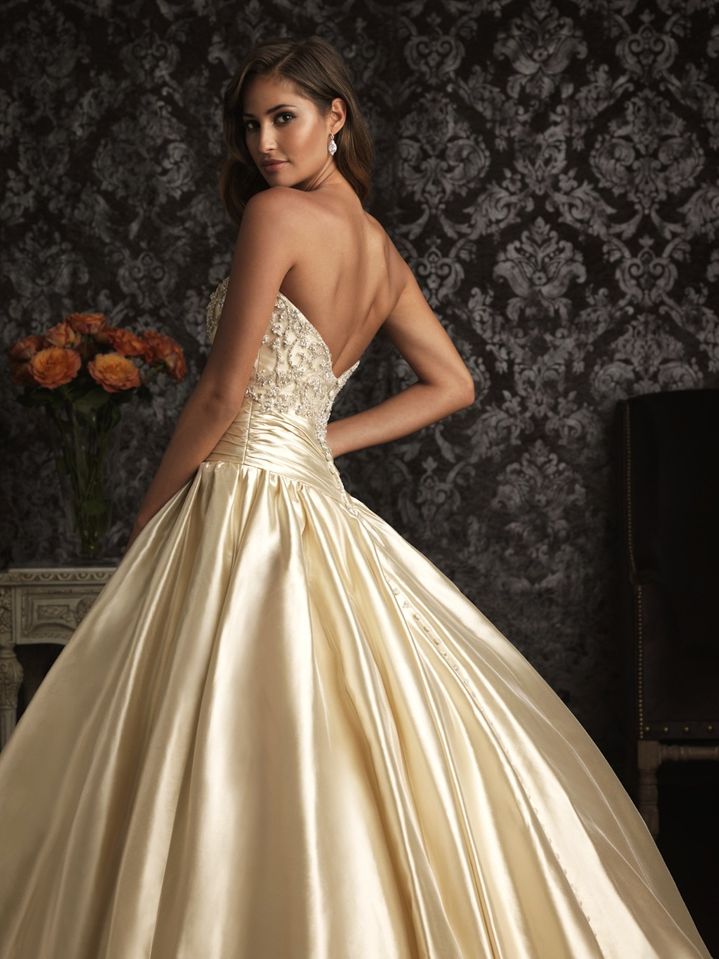 Allure Bridals Wedding Dress Bridal Gown Allure Collection 2013 9001f