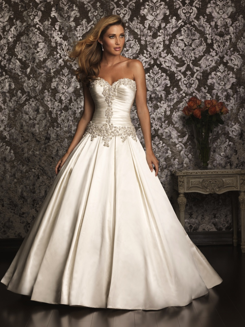 Allure-bridals-wedding-dress-bridal-gown-allure-collection-2013-9003-f.full