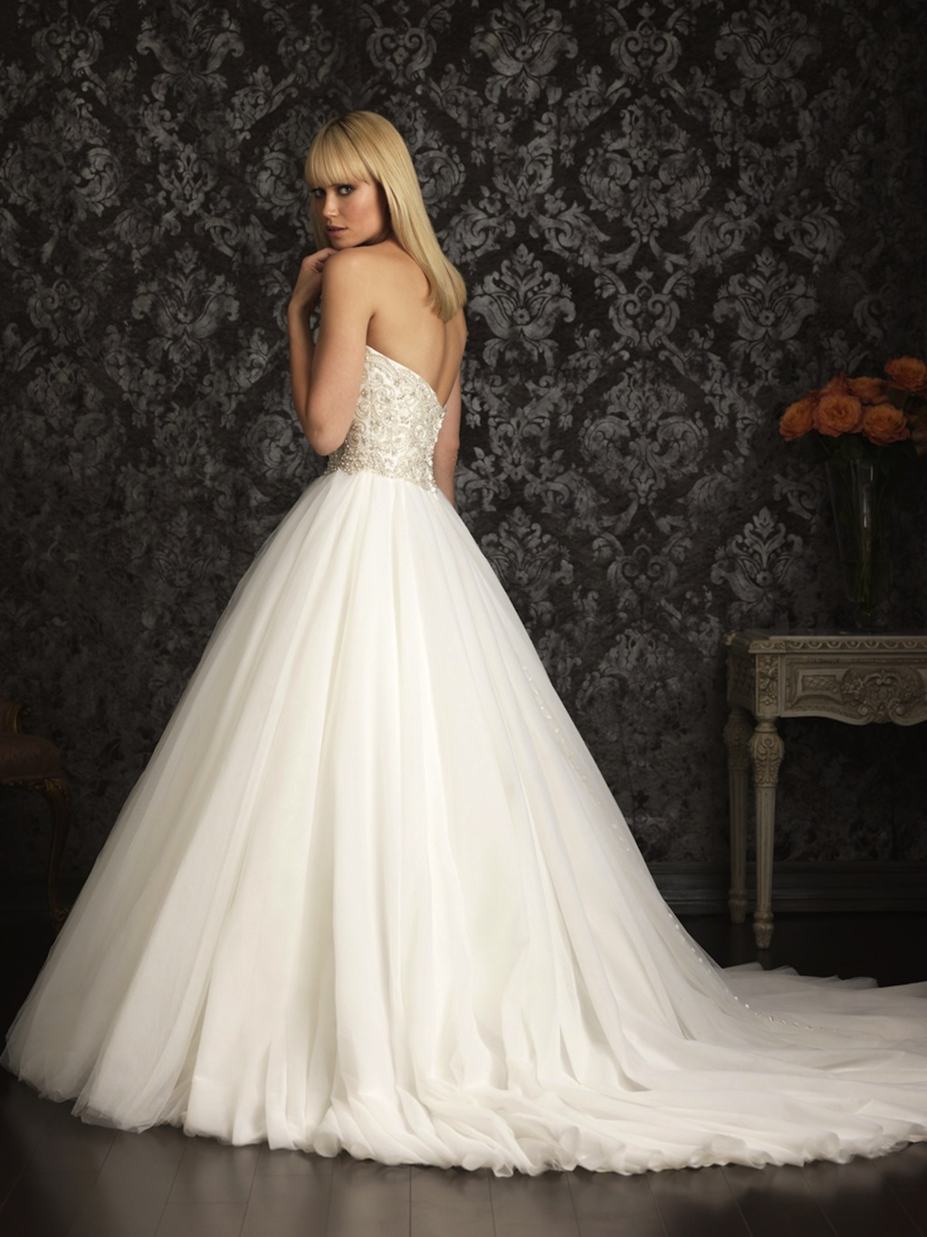 Allure Bridals Wedding Dress Bridal Gown Allure Collection 2013 9006FF