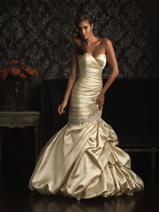 Allure Bridals Wedding Dress Bridal Gown Allure Collection 2013 9007F