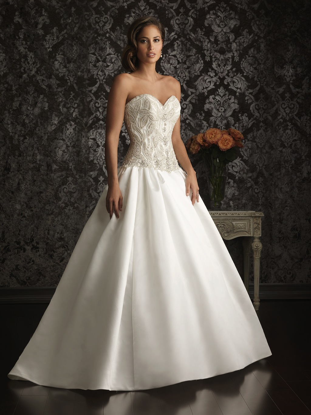 Allure-bridals-wedding-dress-bridal-gown-allure-collection-2013-9009f.full