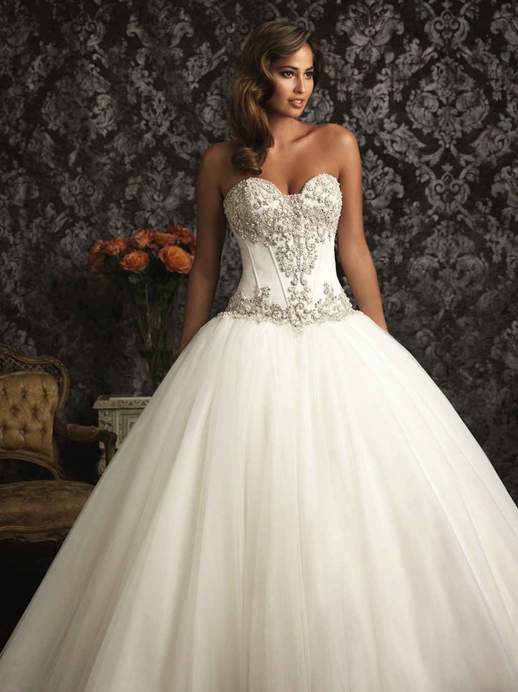 Allure-bridals-wedding-dress-bridal-gown-allure-collection-2013-9017f2.full