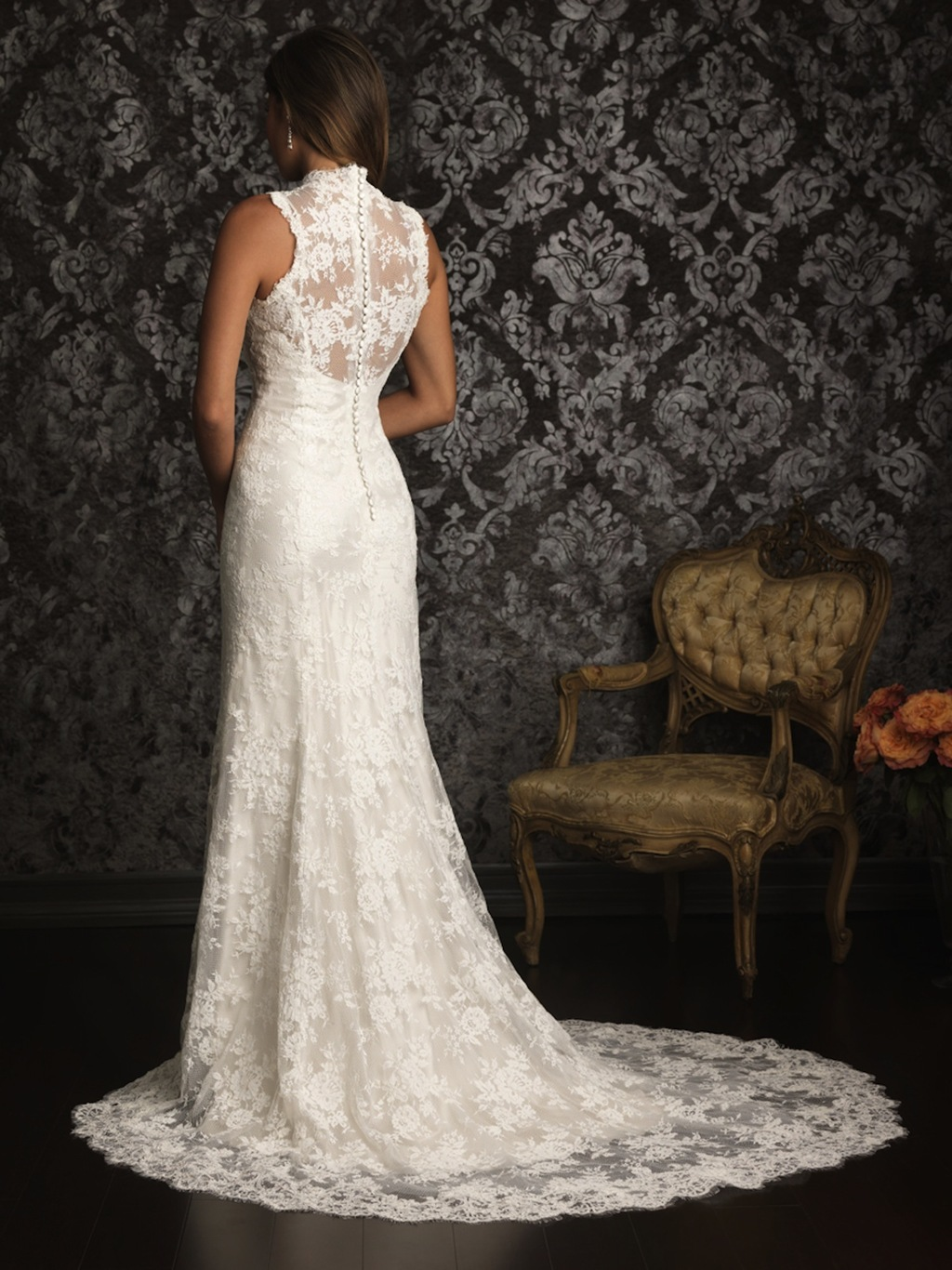 Allure Bridals Wedding Dress Bridal Gown Allure Collection 2013 9019F