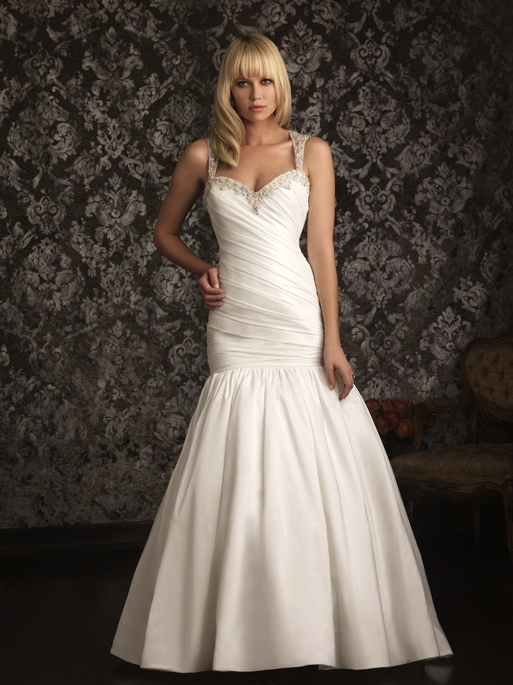 Allure Bridals Wedding Dress Bridal Gown Allure Collection 2013 9020F
