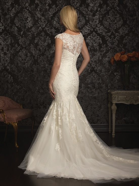 Allure Bridals Wedding Dress Bridal Gown Allure Collection 2013 9025F 2