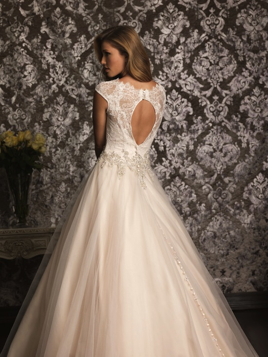 Allure Bridals Wedding Dress Bridal Gown Allure Collection 2013 9022