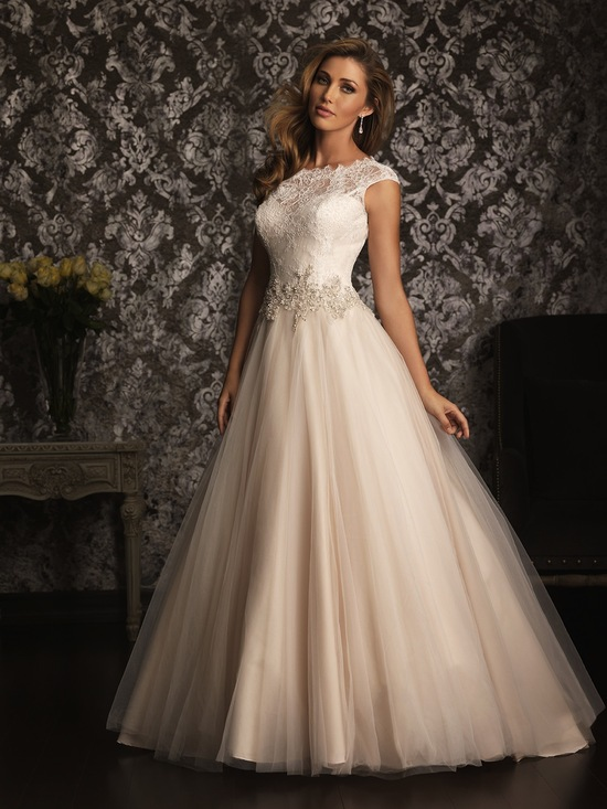 Allure Bridals Wedding Dress Bridal Gown Allure Collection 2013