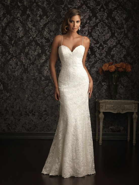 Allure Bridals Wedding Dress Bridal Gown Allure Collection 2013 9021F