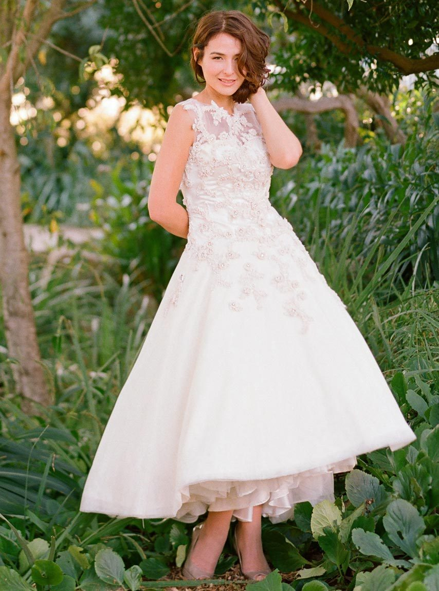 2013-tea-length-wedding-dress-with-illusion-neckline.full