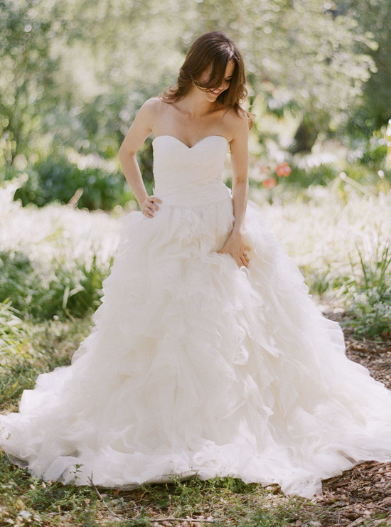 Classic Ball Gown Wedding Dress by Kirstie Kelly Anemone