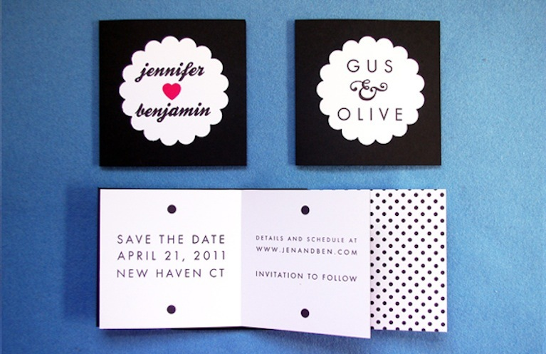 Sweet Wedding Save the Date