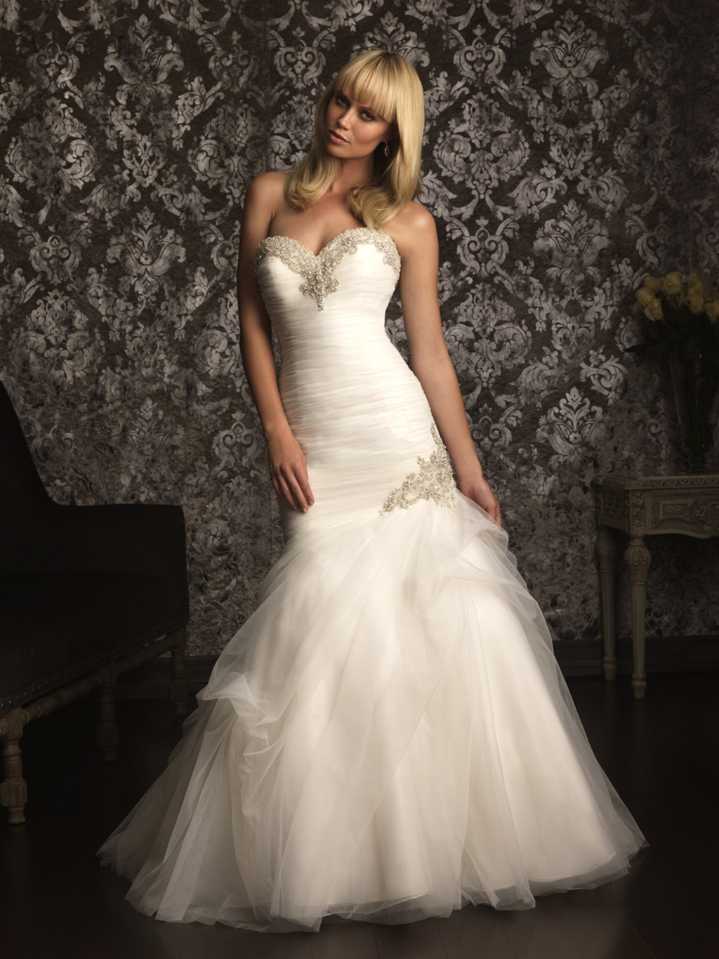 2013 Allure Bridals Wedding Dress Bridal Gown Allure Collection 2013 9002