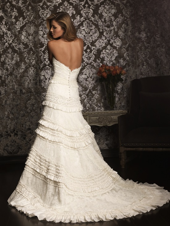 2013 Allure Bridals Wedding Dress Bridal Gown Allure Collection 9011
