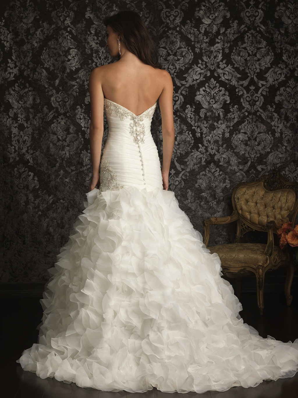 2013 Allure Bridals Wedding Dress Bridal Gown Allure Collection 9012