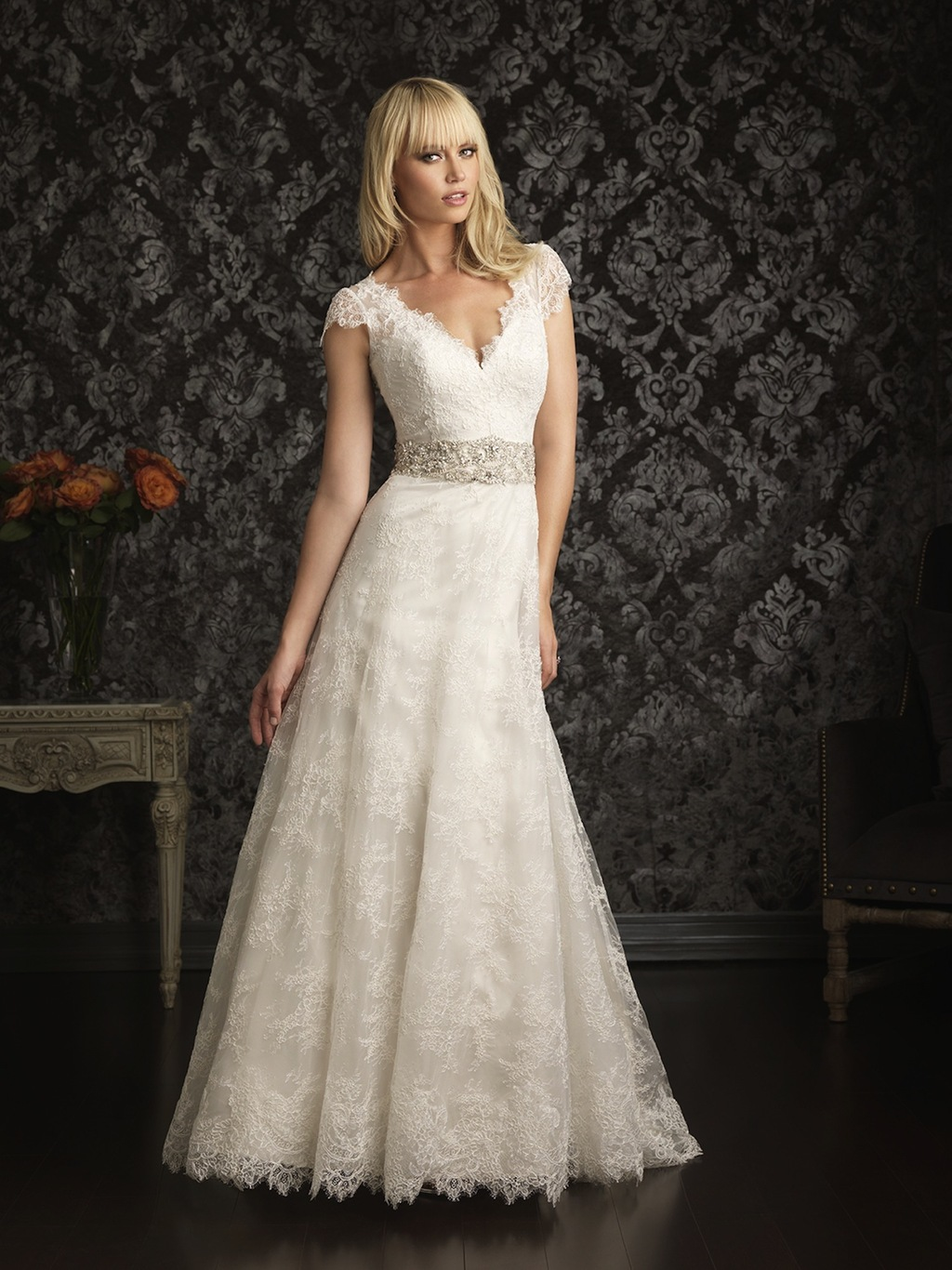 Allure Bridals Wedding Dress Bridal Gown Allure Collection 2013 9016