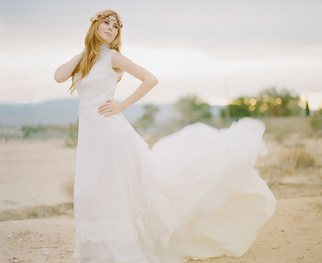 Vintage Wedding Dress for Bohemian Brides