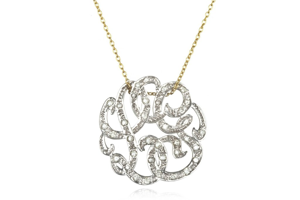 Gold-necklace-with-diamond-monogram-pendant.full