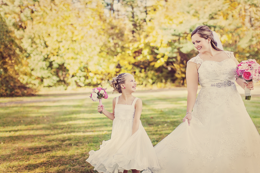 Fall-bride-with-adorable-flower-girl.full