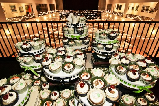 Eco dessert table.