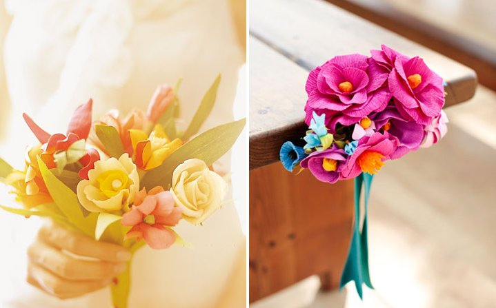 Pink-paper-flowers-for-eco-weddings-peach-paper-bouquet.full