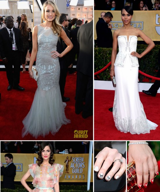 SAG Awards Red Carpet Wedding Style Inspiration