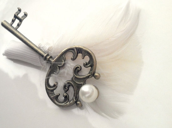 Vintage Weddings Grooms Boutonniere