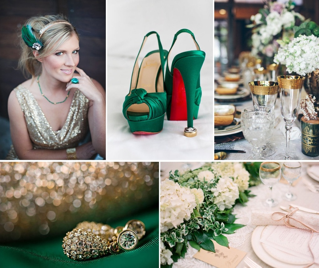 Emerald-green-and-gold-wedding-colors.full