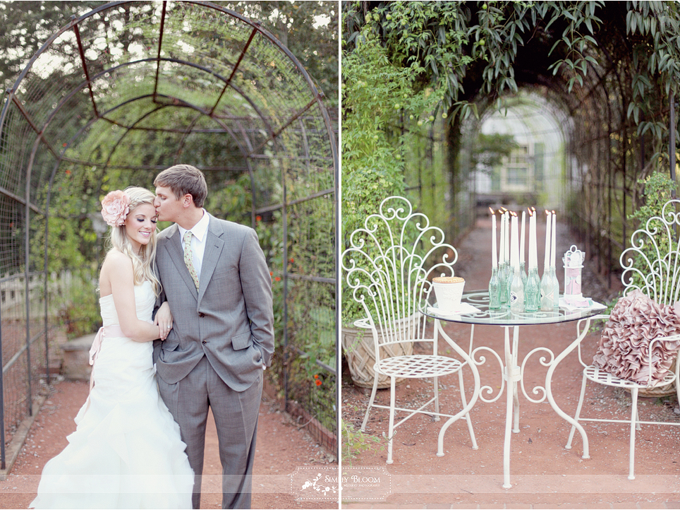 Enchanted garden wedding venues huntsville venues for Wedding dress shops in huntsville al
