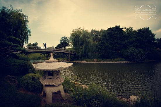 Chicago Botanic Garden Wedding Venue