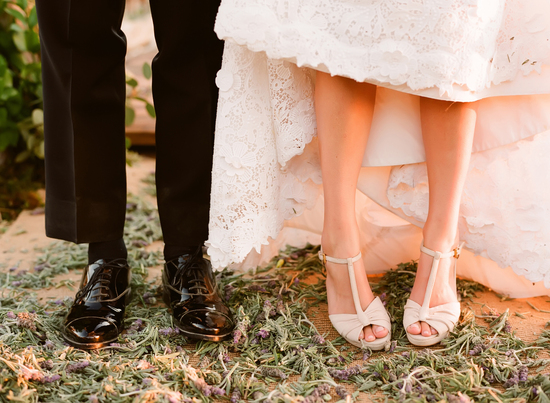 Wedding Shoe Porn by Elizabeth Messina