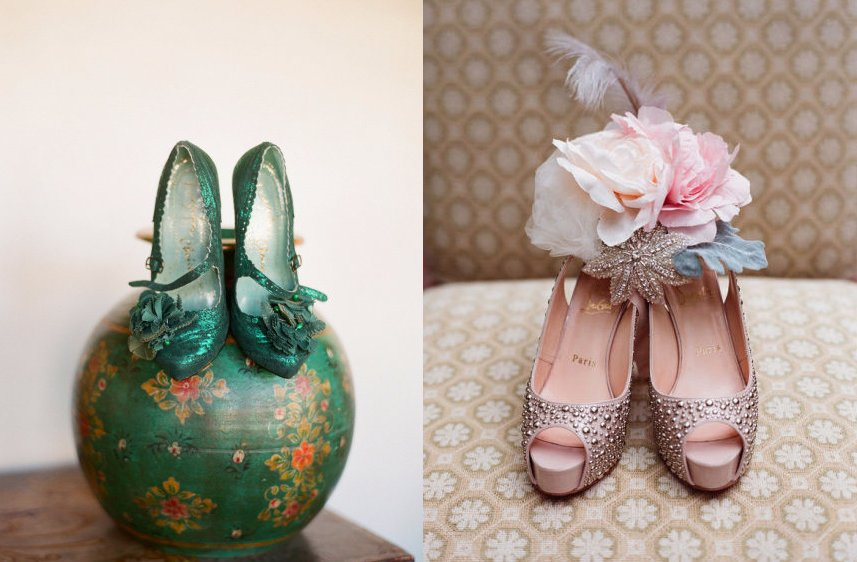 Wedding Shoe Porn by Elizabeth Messina 1