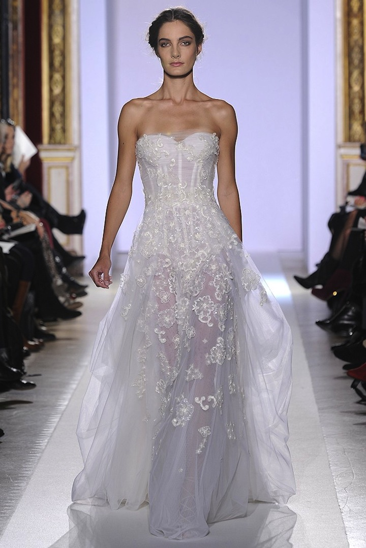 2013 couture wedding dress inspiration from zuhair murad for Zuhair murad wedding dresses prices