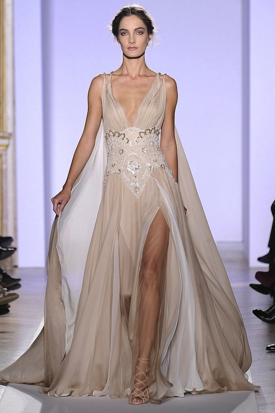 2013 couture wedding dress inspiration from Zuhair Murad 5
