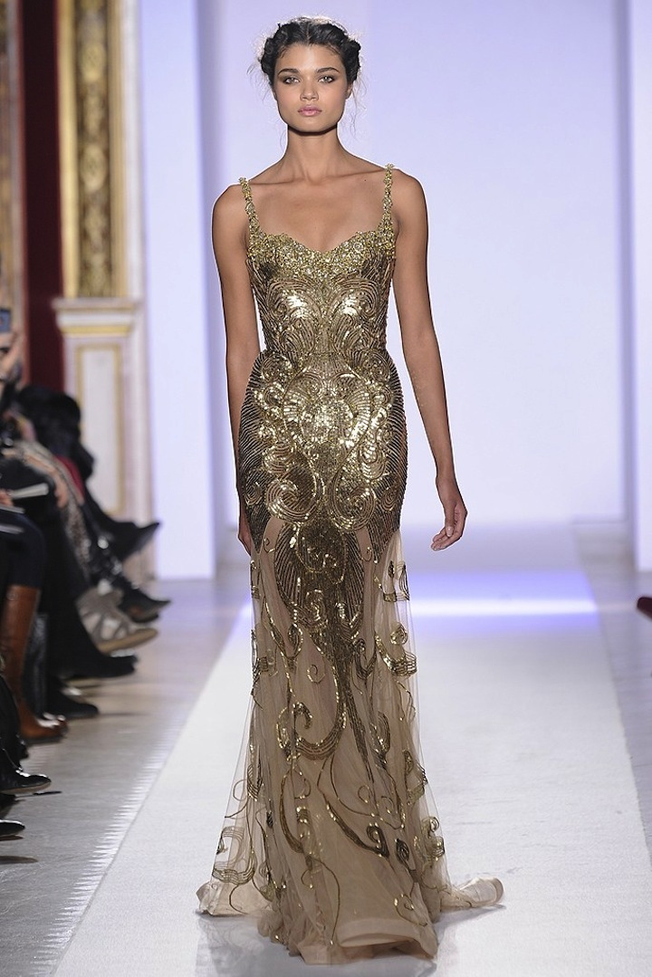 2013 couture wedding dress inspiration from Zuhair Murad 8